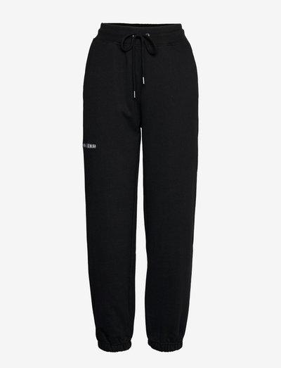 Sweatpants - kleding - black logo