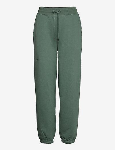 Sweatpants - kläder - dusty green logo