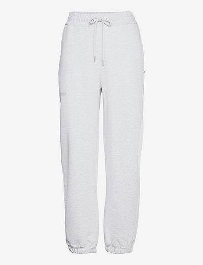 Sweatpants - kläder - light grey melange logo