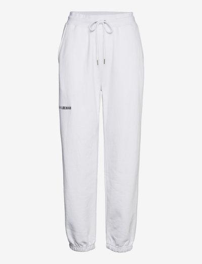 Sweatpants - kleding - white logo