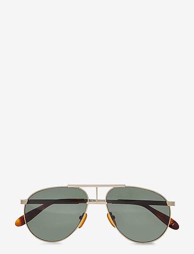 High - ronde zonnebril - matte gold