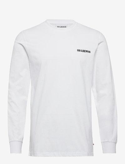 Casual Long Sleeve Tee - t-shirts basiques - white logo