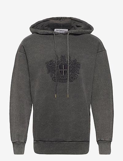 Artwork Hoodie - sweats à capuche - faded dark grey
