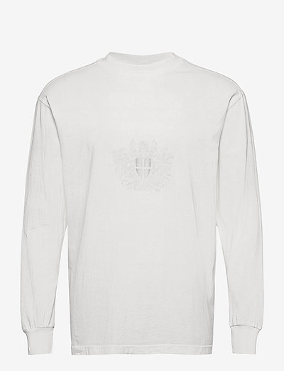 Boxy Long Sleeve Tee - t-shirts à manches longues - off white