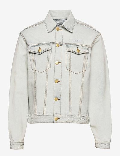 Boxy Denim Jacket - spijkerjassen - light stone wash