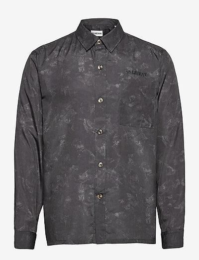 Boxy Shirt - chemises décontractées - black