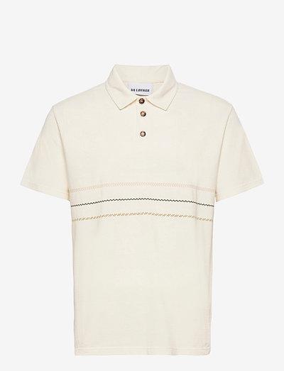 Polo Tee SS - korte mouwen - off white