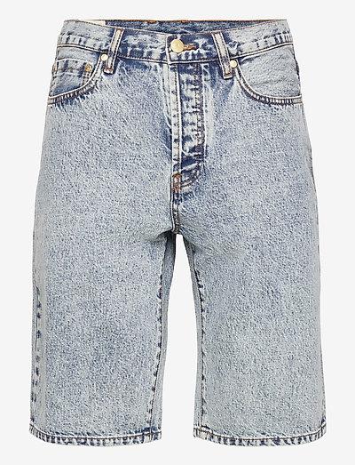 Work Shorts - jeansshorts - bleached denim