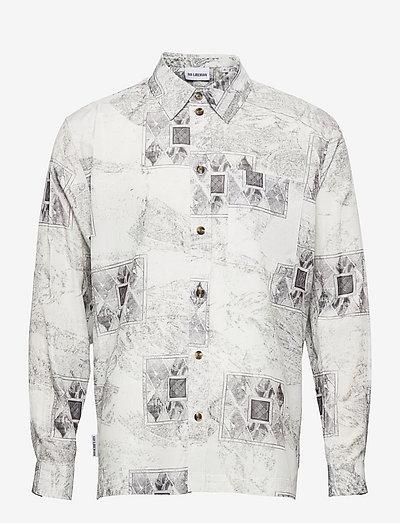 Boxy Shirt Long Sleeve - casual skjortor - bleach diamond
