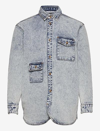 Army Shirt - hauts - grey
