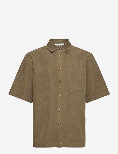 Boxy Shirt SS - chemises basiques - grey