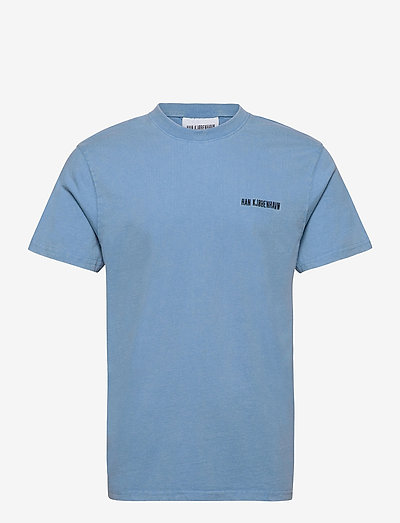 Casual Tee - t-shirts - faded blue