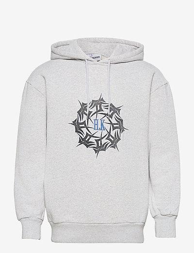 Artwork Hoodie - sweats à capuche - grey melange