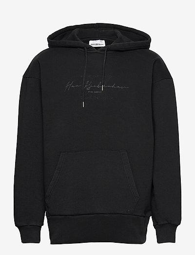 Bulky Hoodie - sweats à capuche - faded black hk