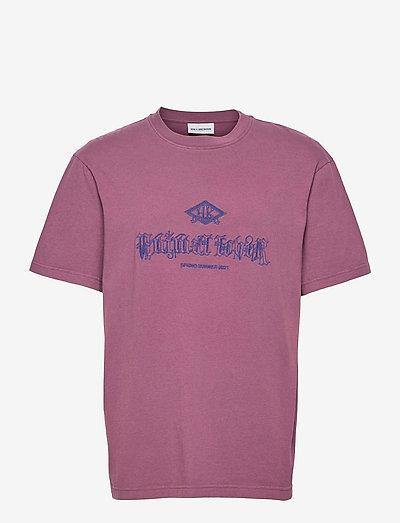 Artwork Tee - kortärmade t-shirts - faded burgundy