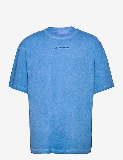 Boxy Tee - basic t-shirts - faded blue