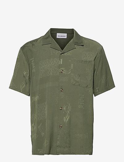 Summer Shirt - chemises à manches courtes - green tribal