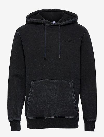 Casual Hoodie - hoodies - denim blue acid