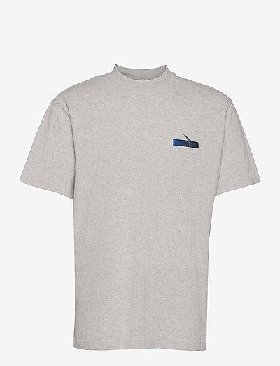 Boxy SS Tee - t-shirts basiques - grey melange