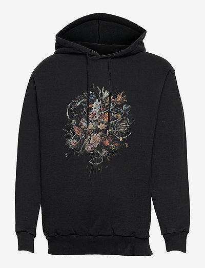 Artwork Hoodie - hættetrøjer - faded black
