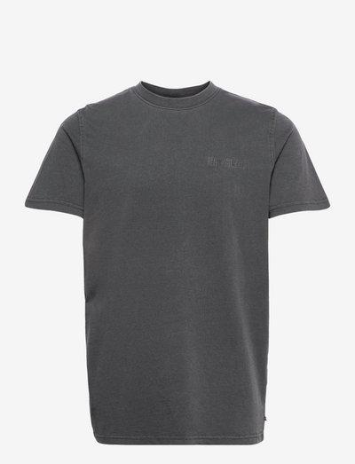 Casual Tee Short Sleeve - basic t-shirts - dark grey logo
