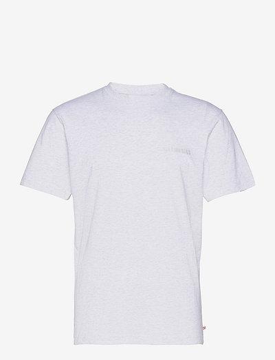 Casual Tee Short Sleeve - basic t-shirts - light grey melange logo