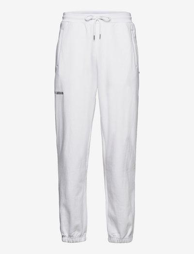 Sweatpants - vêtements - white logo
