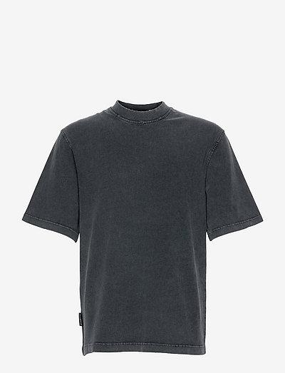 Distressed Tee Short Sleeve - basic t-shirts - distressed dark grey