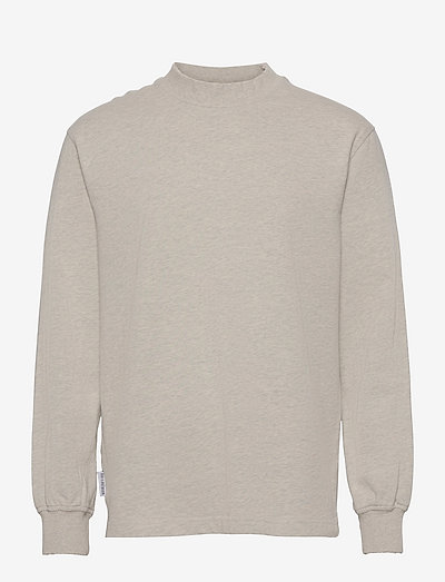 Distressed Tee Long Sleeve - t-shirts basiques - distressed grey melange