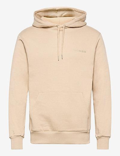 Casual Hoodie - basic sweatshirts - sand