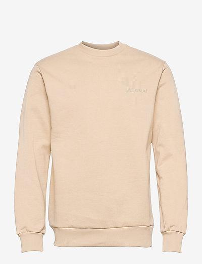 Casual Crew - basic sweatshirts - sand