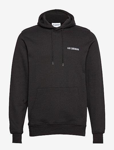 Casual Hoodie - hoodies - black