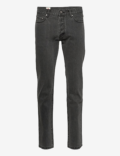 Tapered Jeans - tapered jeans - black stone wash