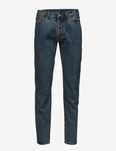 Tapered Jeans - regular jeans - heavy stone wash
