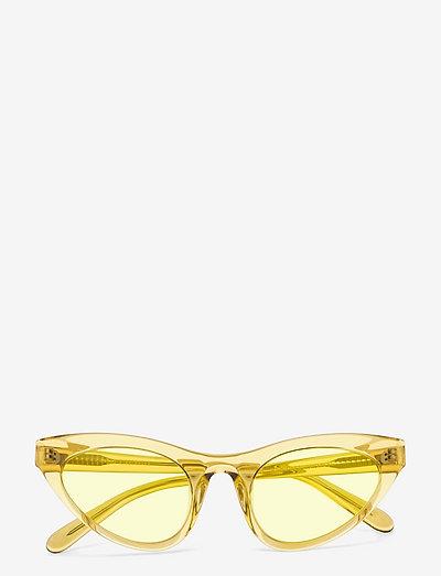 Race - d-vormige zonnebril - yellow transparent