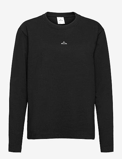 Hanger Longsleeve - t-shirt & tops - black