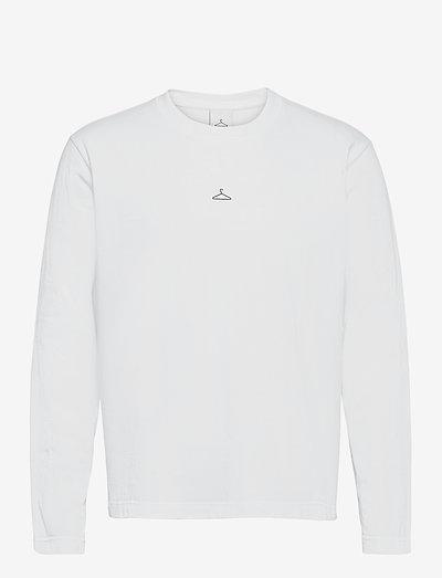 Hanger Longsleeve - t-shirts - white