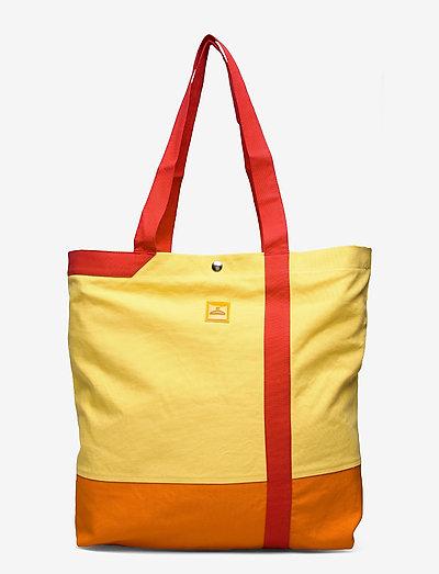Hanger Canvas Tote - tassen - yellow orange red