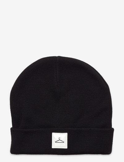 Hanger Beanie - czapki i kapelusze - black
