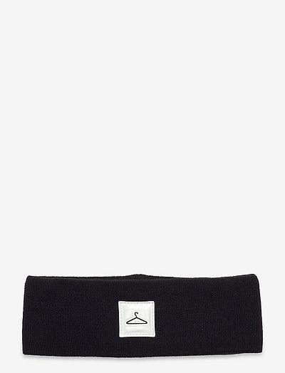 Hanger Headband - czapki i kapelusze - black