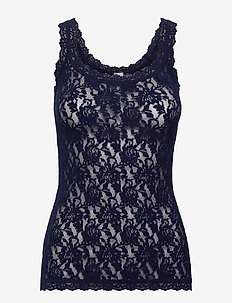 Hanky Panky Signature Lace, Classic Cami - overdele - navy