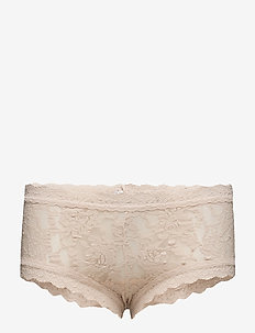 BOYSHORT SIGNATURE LACE - CHAI