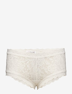 BOYSHORT SIGNATURE LACE - IVORY