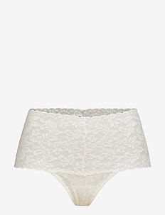 RETRO THONG RETRO LACE - MARSHMALLOW