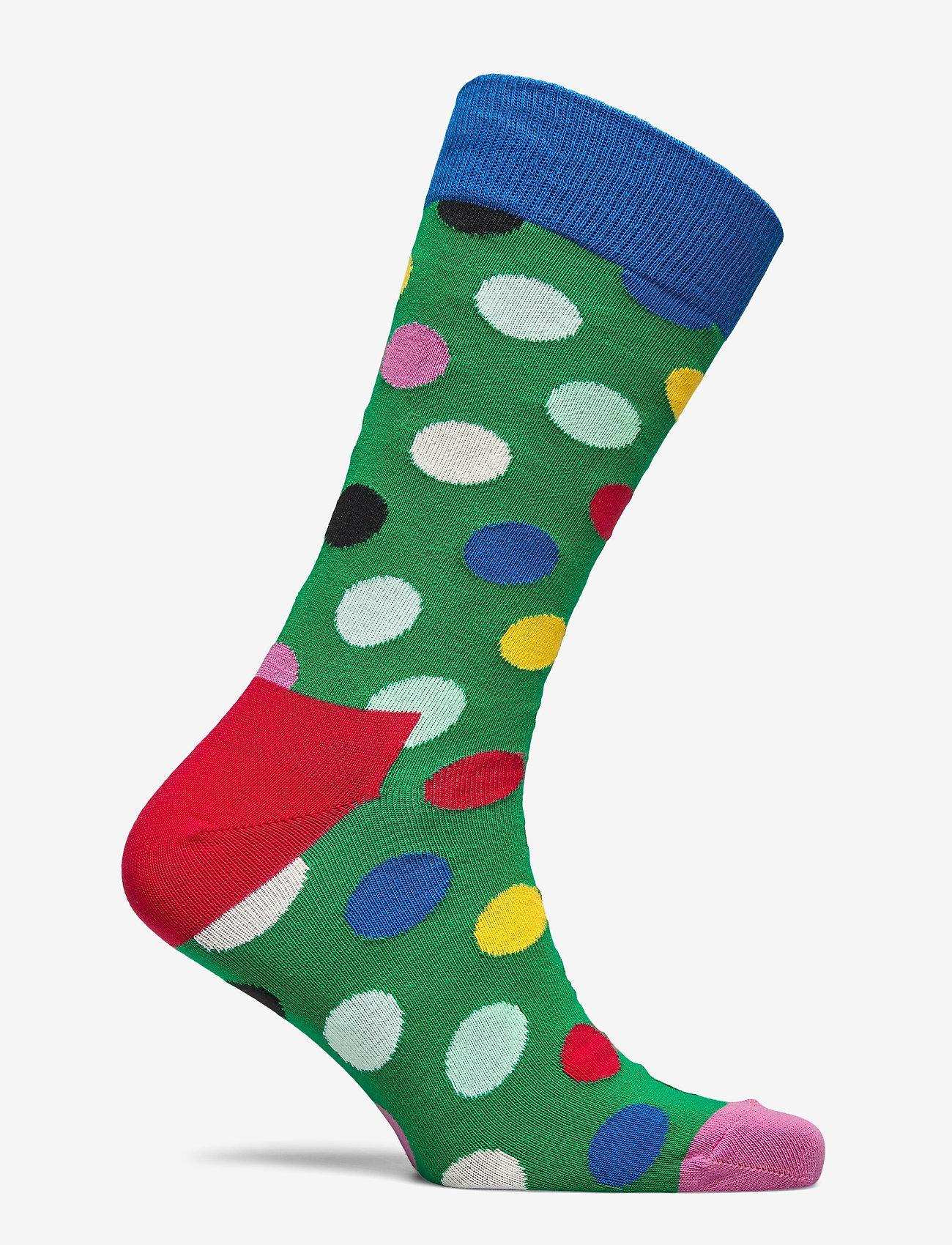 Happy Socks Big Dot Sock - Strømper GREEN - Menn Klær