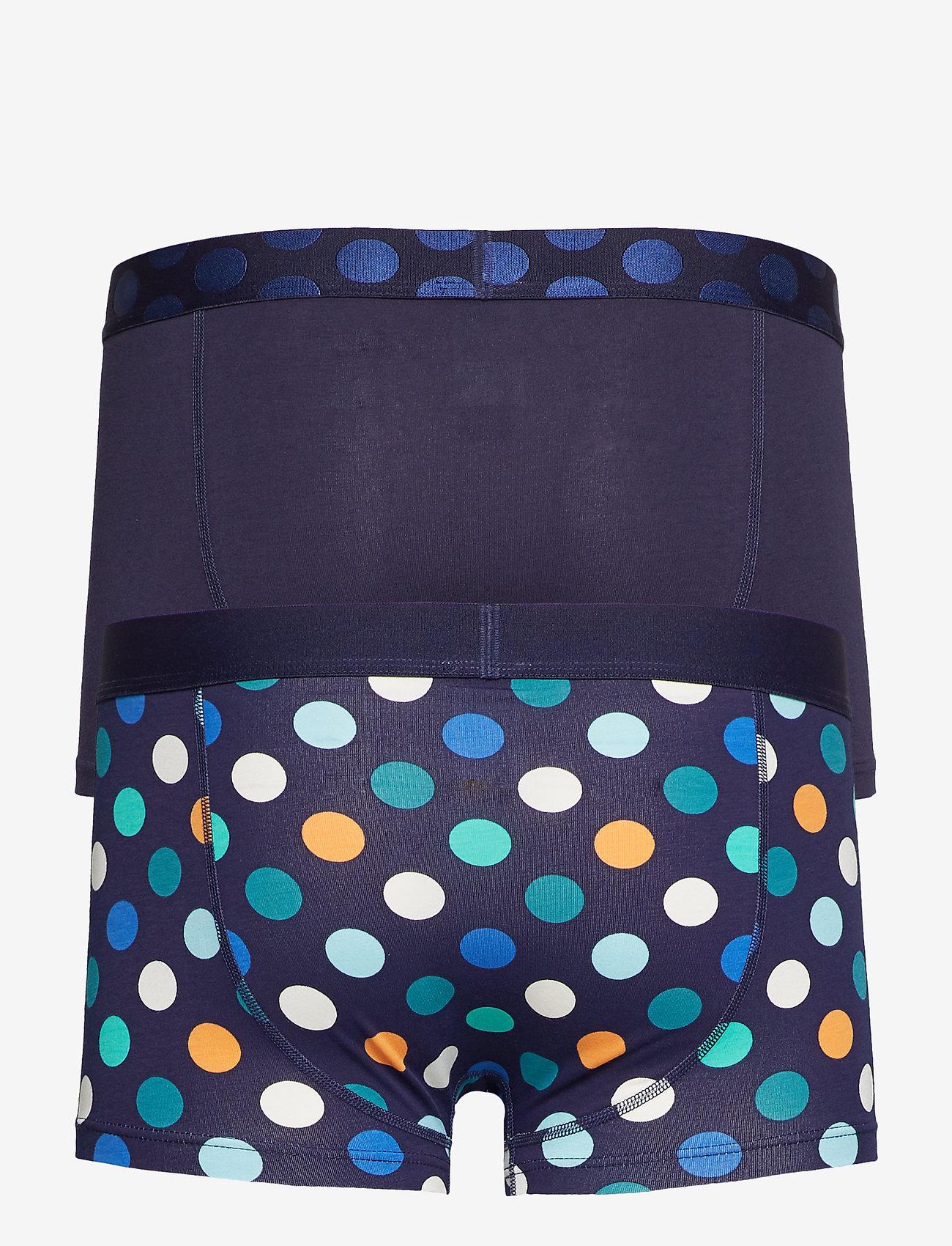 2-pack Big Dot Trunk (Blue) (14.98 €) - Happy Socks qZw5K