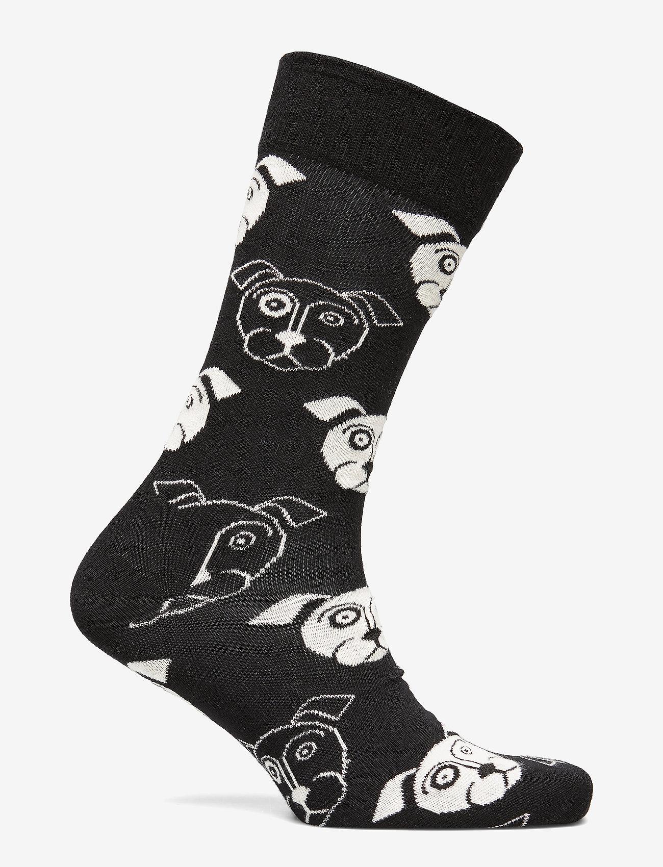 Happy Socks Dog Sock - Sokker BLACK - Menn Klær
