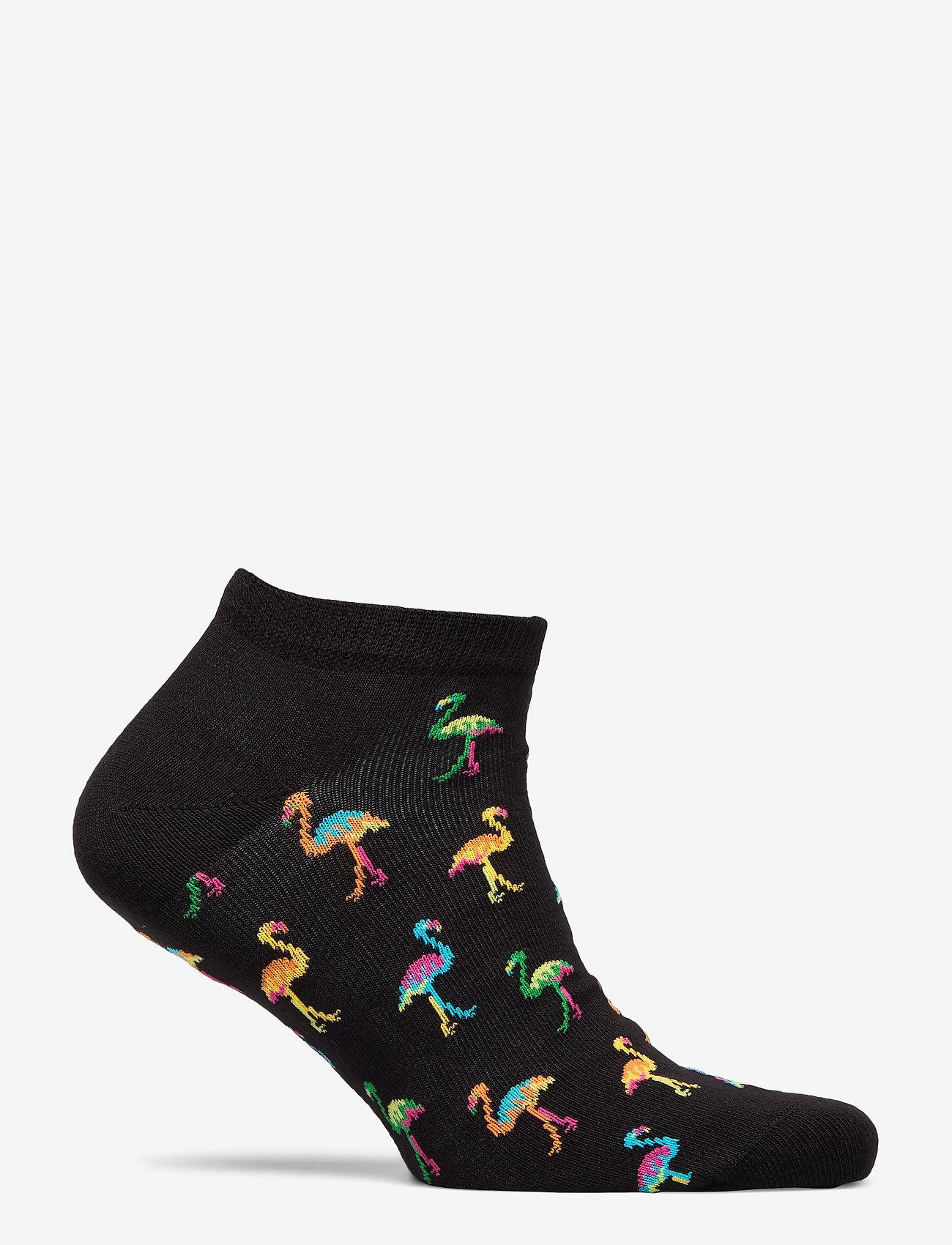 Happy Socks Flamingo Low Sock - Strømper BLACK - Menn Klær
