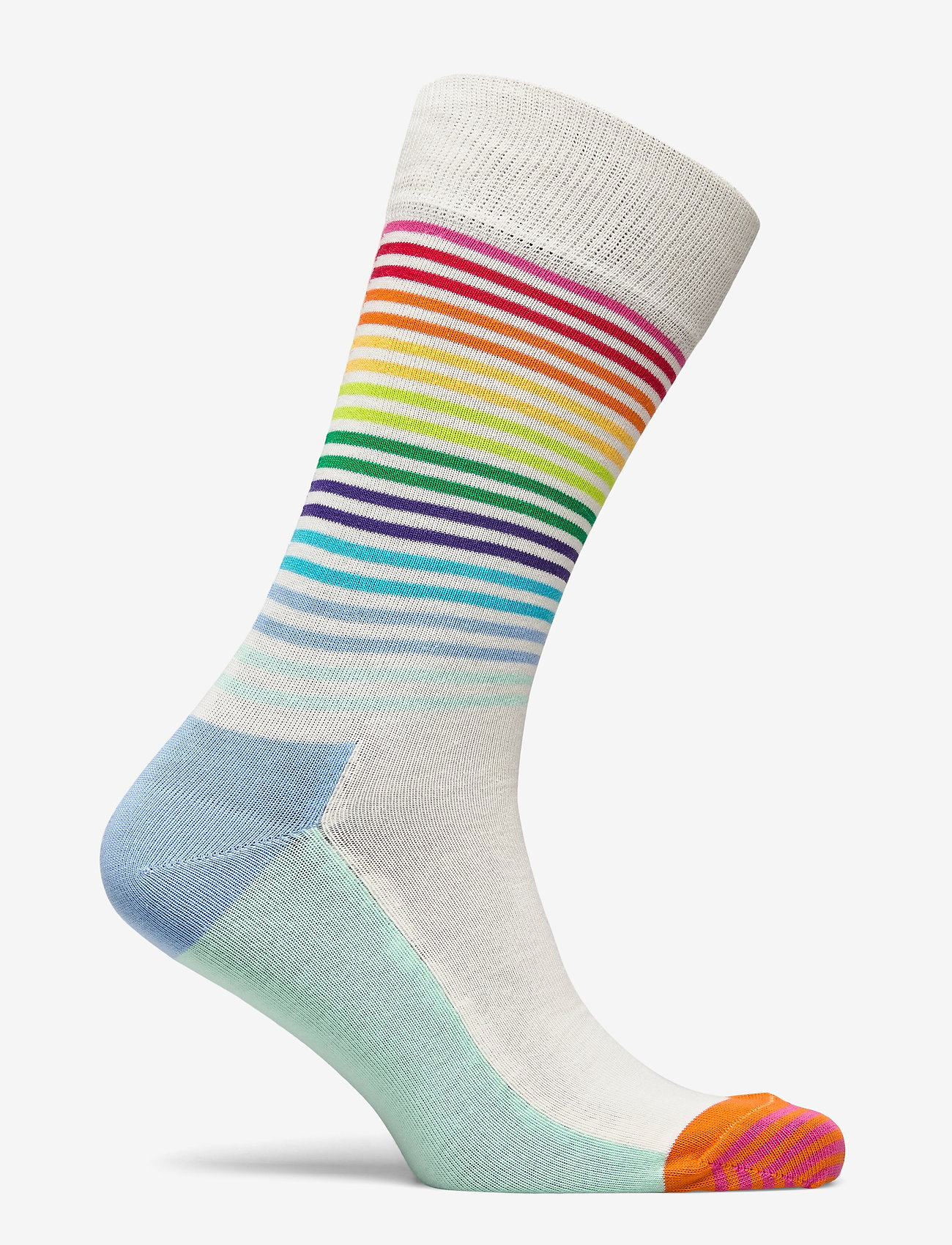 Happy Socks Half Stripe Sock - Strømper MULTI - Menn Klær