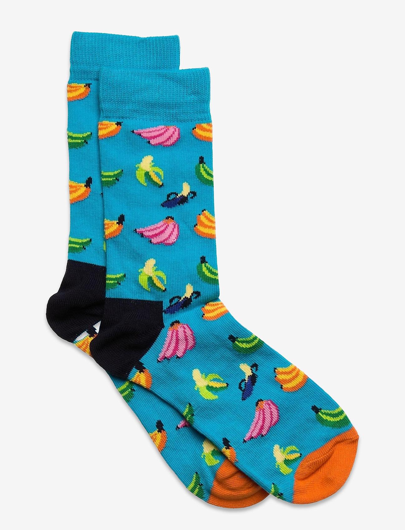 Happy Socks - Kids Banana Sock - skarpetki - turquoise - 0